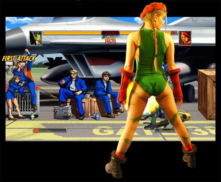 Cammy White<br>from STREET FIGHTER